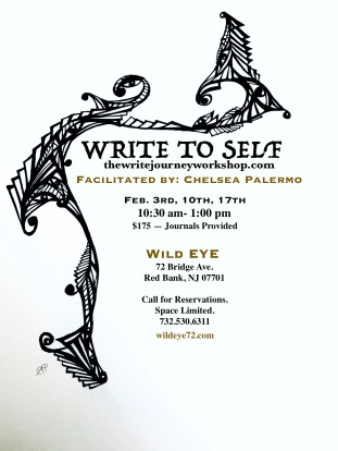 write to self facebook flyer simple.